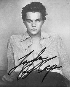 leo and a signature