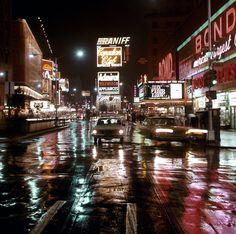 Bill Cotter, Times Square, NYC, 1965