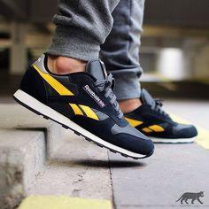 "3,335 Likes, 68 Comments - asphaltgold GmbH & Co. KG (@asphaltgold_sneakerstore) on Instagram: ""Reebok Classic Sport Clean | EU 40 – 47 | 85€ | Pant: Nike Tech Fleece *Tumbled Grey* | shop:…"""