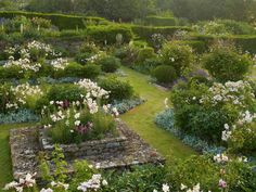 gertrude jekyll gardens | devoted scholar to art and design, Gertrude... | Wallace Gardens