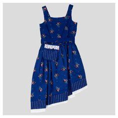 Girls' Beauty and the Beast Dress - Navy XL, Girl's, Size: XL(14-16), Blue