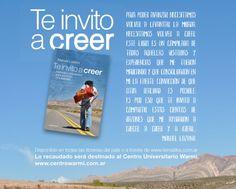 """""""Te invito a Creer"""" un libro de Manuel Lozano http://www.encuentos.com/noticias/te-invito-a-creer-un-libro-de-manuel-lozano/"""