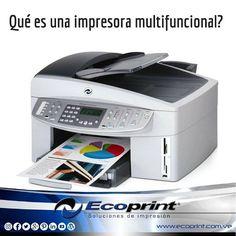 Impresora multifunción es un equipo de oficina que combina las funciones de impresión, escáner, fax, fotocopiadora y lector de tarjetas de memoria. En la mayoría de modelos también permite enviar documentos por email. Cuentan con una pantalla LCD monocromo o a color para el control del equipo.  Las impresoras multifunción, de laser o inyección, están reemplazando progresivamente a las impresoras tradicionales en las empresas, gracias a su ventaja mayor: aumentar la productividad y reducir…