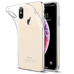 IPhone Xs Max Hülle Beetop Schutzhülle Ultradünn Handyhülle Transparent  Weiche Silikon TPU Rückschale Case Cover Für