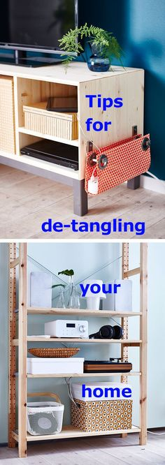 If cords and cables make you crazy, try these simple DIY fixes for keeping them hidden and tangle-free. Simple Diy, Easy Diy, Alondra, Apartment Goals, Cord Organization, Used Iphone, Furniture Projects, Interior Design Inspiration, Tangled