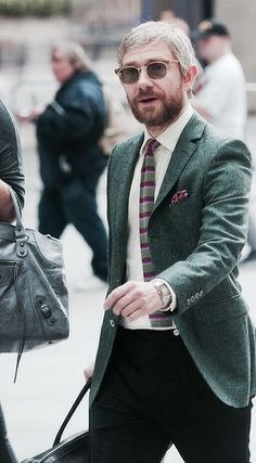 Martin Freeman - I love the beard...
