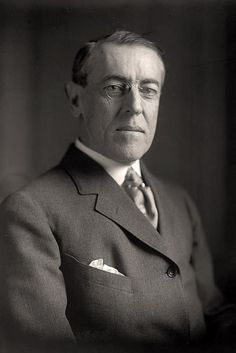 """""""The ear of the leader must ring with the voices of the people."""" ~President Woodrow Wilson - 28th President of the United States"""