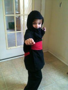 homemade ninja costume - Google Search