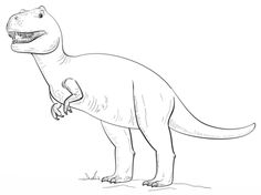 Tyranossaurus Rex coloring page from Tyrannosaurus category. Select from 26388 printable crafts of cartoons, nature, animals, Bible and many more.