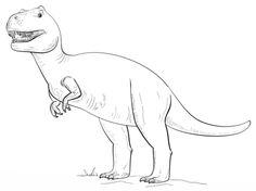 Tyranossaurus Rex Coloring page