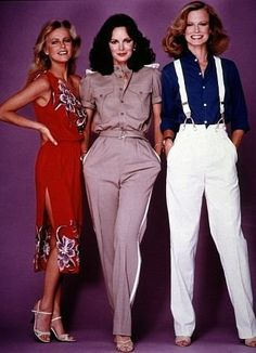 """Charlie's Angels"" Cheryl Ladd, Jaclyn Smith, Shelley Hack 1979 ABC"