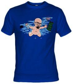 Camiseta Never Bad, nirvana heisenberg, breaking bad, never mind, Alecxps design