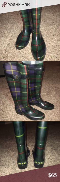 Ralph Lauren Women's Rain Boots Brand new and never worn! Adjustable buckles on sides of boots. Boots run small around the calves. Ralph Lauren Shoes Winter & Rain Boots