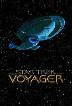 Star Trek Voyager - Still my favorite looking ship in the Star Trek universe.
