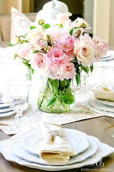 summer table scape
