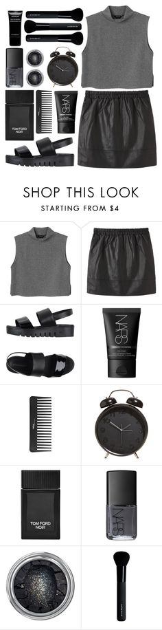 """""""Insignificant"""" by kara-burke ❤ liked on Polyvore featuring Monki, Vanessa Bruno Athé, Jeffrey Campbell, NARS Cosmetics, Sephora Collection, Tom Ford and Givenchy"""
