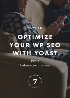 How to Optimize Your WordPress SEO with Yoast (Part 2). Learn how to enhance your content and gain higher ranking in search engine results with the Yoast plugin! We'll take you step by step on how to optimize your posts and pages for maximum SEO results.