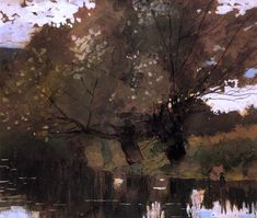 pond and willows houghton farm painting & winslow homer pond and willows houghton farm paintings for sale Winslow Homer Paintings, Farm Paintings, Paintings For Sale, Oil Painting Gallery, Oil Painting Reproductions, Watercolor Landscape, Watercolour, American Artists, Pictures