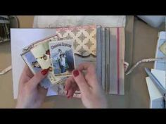 ▶ More Marion Smith Hybrid Journals (Part Two) Pink! - YouTube