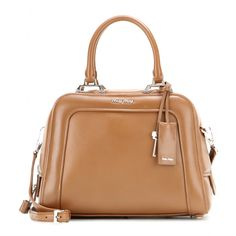Miu Miu - Leather shoulder bag - Give your look the ultimate retro  finishing touch with c583322b70