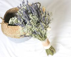 Calla Lilies Wedding Package-Picasso Purple Calla Lilies Silk   Etsy Thistle Bouquet, Lavender Bouquet, Dried Flower Bouquet, Small Bouquet, Flower Bouquet Wedding, Dried Flowers, Lavender Blue, Flower Bouquets, Wedding Bridesmaid Bouquets