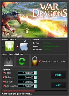 War Dragons Online Hack - Get Unlimited Egg-Tokens and Rubies Dragon Time, Dragons Online, App Hack, Free Gems, Test Card, Text You, Cheating, Free Food, Shopping