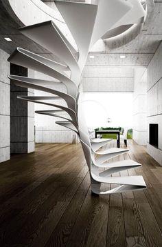 Escalier design : une sélection de 40 modèles d'escalier uniques