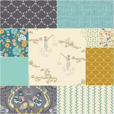 Emmy Grace Fat Quarter Bundle in Springs Whisper