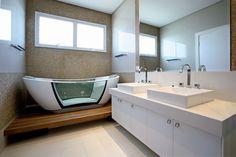 Inspire-se em 27 projetos para banheiros de sonho - Casa e Decoração - UOL Mulher