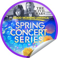 The Civil Wars on GMA on April 19!...This isn't a history lesson! The Civil War is performing on GMA. Don't forget to check-in to GetGlue.com for GMA stickers!