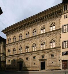 Palazzo Rucellai we Florencji, Alberti, ok. 1460