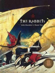 The Rabbits by John Marsden and Shaun Tan - Visual literacy with LAC Aboriginal and Torres Strait Islander histories and cultures. Shaun Tan, Rabbits In Australia, John Marsden, Rabbit Book, First Fleet, Native Australians, Australian Curriculum, Mentor Texts, Australian Animals