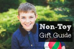 Non-Toy Gift Guide For The Children In Your Life