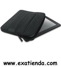 """Ya disponible Funda Sweex 10.1"""" tablet etui negra   (por sólo 17.99 € IVA incluído):   -Funda Tablet Nylon Etui 10.1"""" -Tipo: Sleeve -Dimensiones (Ancho x Alto x Largo): 285 x 195 x 30 mm -Compatibilidad tamaño de pantalla: 10.1 """" -Color: Negro -Materiales: Exterior Nylon, innerside EVA bubble pad  -P/N: YAC143 Garantía de 24 meses.  http://www.exabyteinformatica.com/tienda/2291-funda-sweex-10-1-tablet-etui-negra #maletin #exabyteinformatica"""