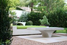 Concrete outdoor furniture is a great way to bring conversation and functionality to your outdoor space. But most outdoor furniture ages Concrete Patios, Concrete Outdoor Furniture, Cheap Patio Furniture, Concrete Projects, Concrete Planters, Outdoor Furniture Sets, Urban Furniture, Furniture Ideas, Furniture Removal