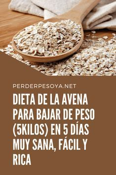 Womens Style Discover Diet of oats to lose weight in 5 days very healthy easy and rich Dieta Mediterranea Detox Diet Recipes Healthy Recipes Healthy Life Healthy Eating Comidas Light Atkins Diet Health Diet Fitness Diet Nutrition Detox Diet Recipes, Healthy Recipes, Fitness Diet, Health Fitness, Healthy Life, Healthy Living, Nutrition, Health Diet, Food And Drink
