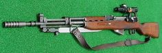 Yugoslavian automatic rifle mounted with a Zrak scope. While not particularly accurate, they were purportedly used by freelance snipers such as those who targeted civilians during the Siege.