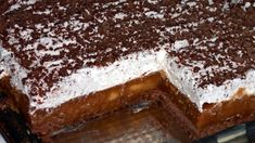 FOTORECEPT: Jablkový nepečený koláč s mascarpone krémom