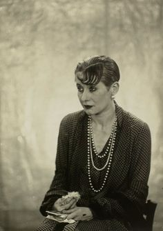 Yvonne George, famous opiate addict and chanteuse, 1927. photos by Man Ray