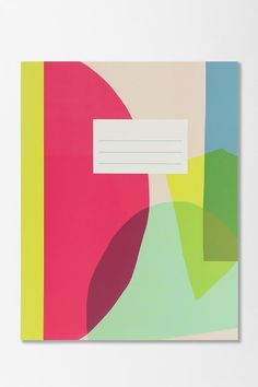 Graphic Notebook $8 or 2 for $12 | Urban Outfitters