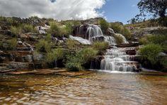 Cascatinha - Brazilian waterfall near the town of Capitolio