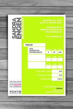 1000+ images about Invoices on Pinterest | Invoice template ...