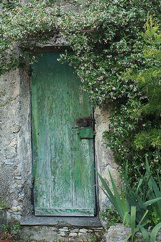 Secret door to the enchanted garden