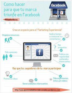 Como hacer para que tu marca triunfe en Facebook