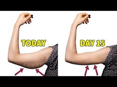 5-Min Workout | Get Toned Arms in 15 Days | No Equipment Needed - YouTube 5 Min Workout, Toning Workouts, Easy Workouts, Get Toned, Toned Arms, Flabby Arms, Arm Fat, How To Get Rid, Slim