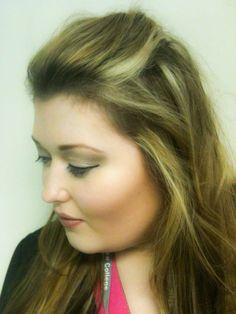 Airbrush makeup... Check out those cheekbones!!