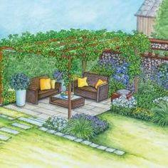 bl hender sichtschutz f r die terrasse pinterest. Black Bedroom Furniture Sets. Home Design Ideas