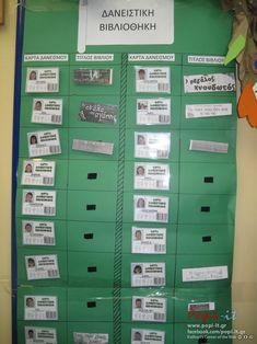 Δανειστική βιβλιοθήκη Literacy, Locker Storage, School, Books, Crafts, Ideas, Livros, Libros, Manualidades