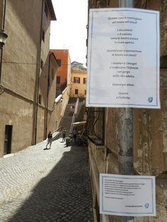 Via Monte Polacco errante.