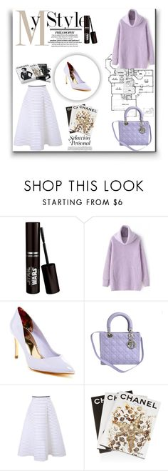 """Untitled #1"" by littleandyy ❤ liked on Polyvore featuring Ted Baker, Christian Dior, Assouline Publishing, Chanel, women's clothing, women's fashion, women, female, woman and misses"